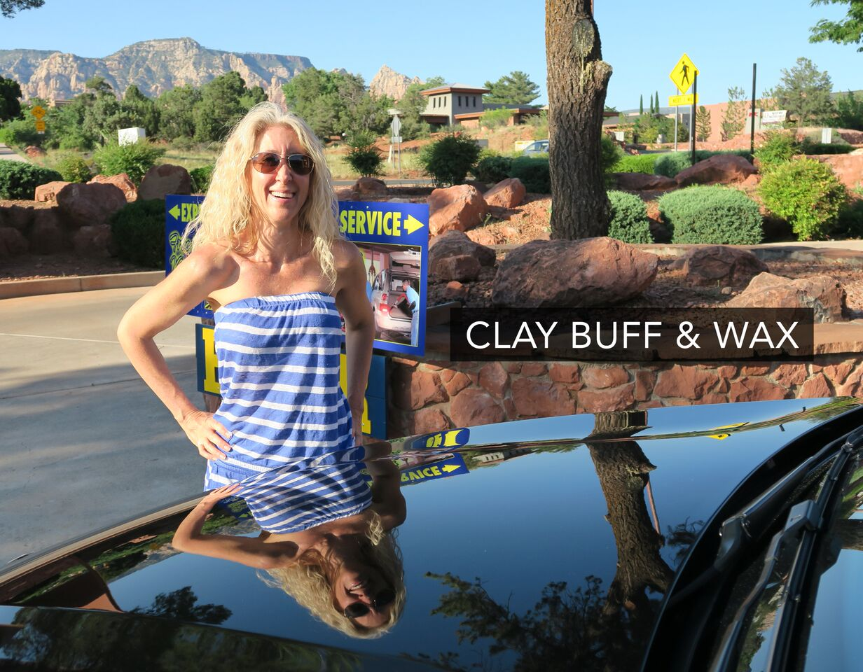 Clay Buff and Wax