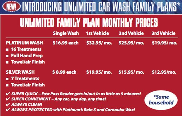 Sedona Car Wash Specials And Discounts