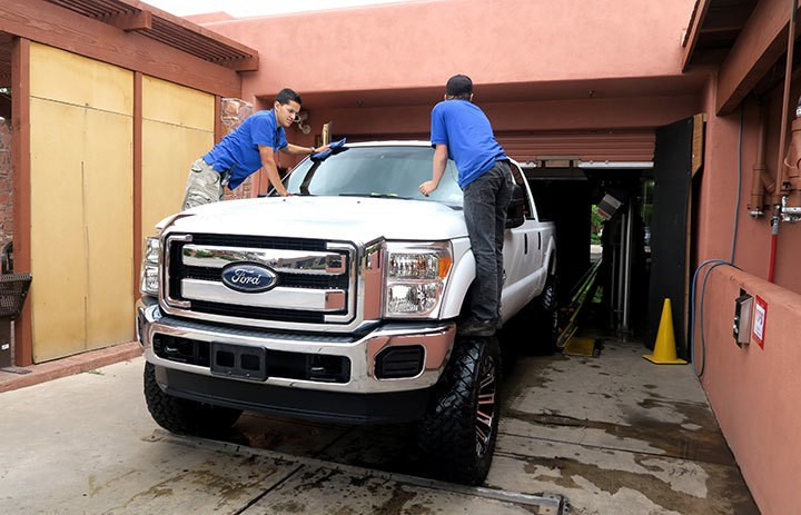 Sedona Car Wash and Detail Service Menus