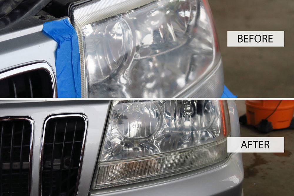 Paint and Headlight Restoration