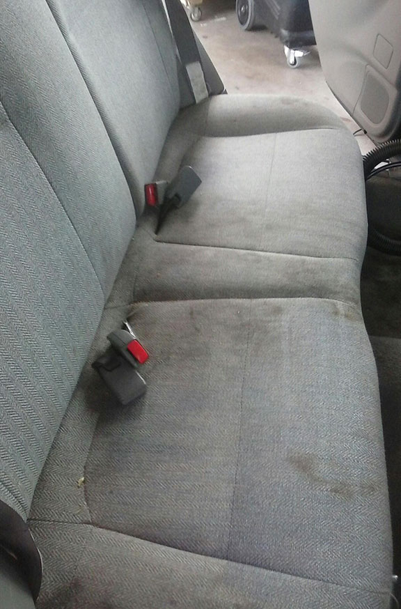 Forester rear seat BEFORE
