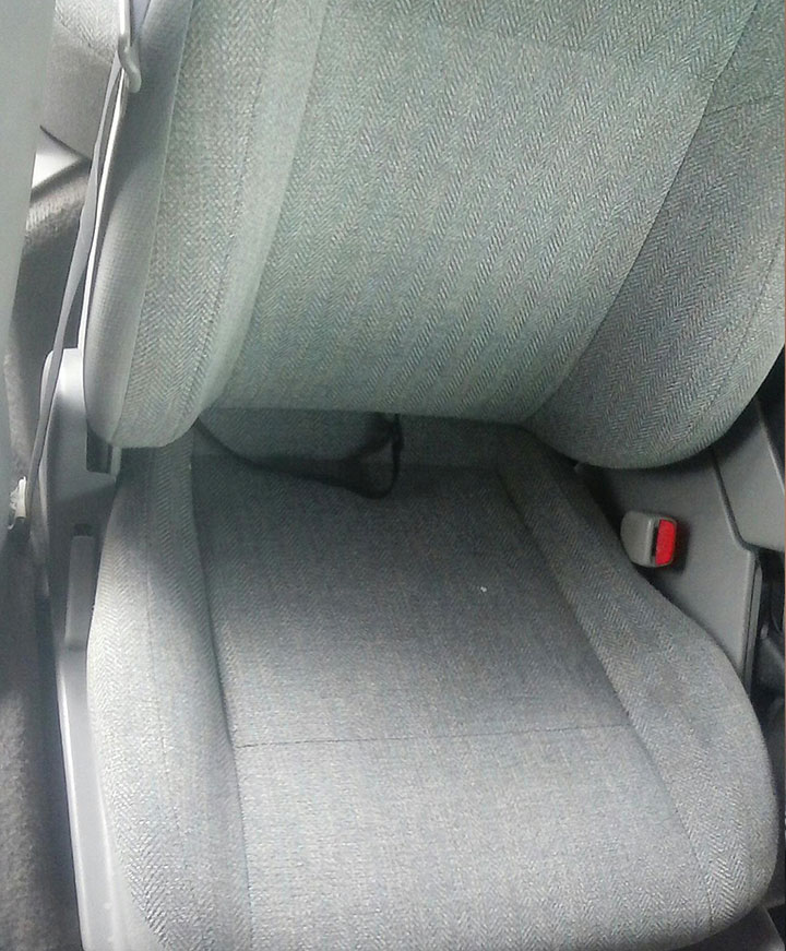 Forester passenger seat DONE